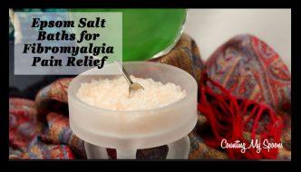 Epsom salt baths for fibromyalgia pain relief