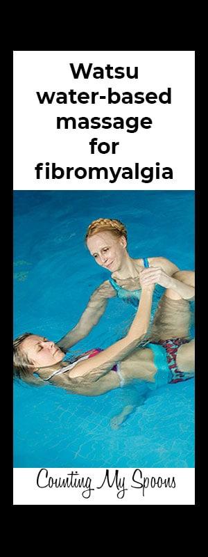 Watsu for fibromyalgia