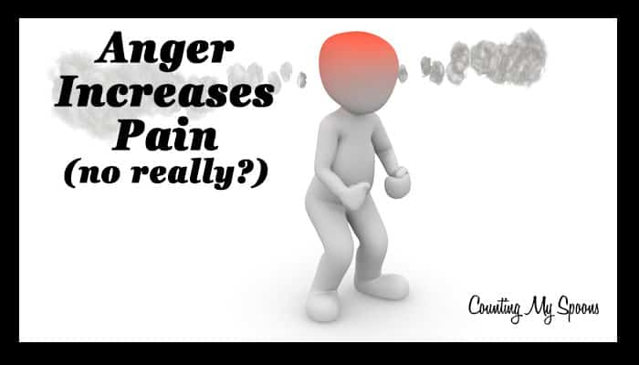 Does Anger Increase Pain?