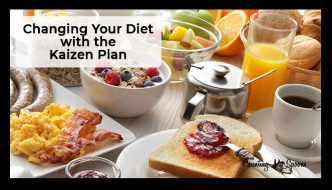 Changing your diet with the Kaizen Plan for healthy eating