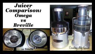 Juicer Comparison: Omega vs Breville