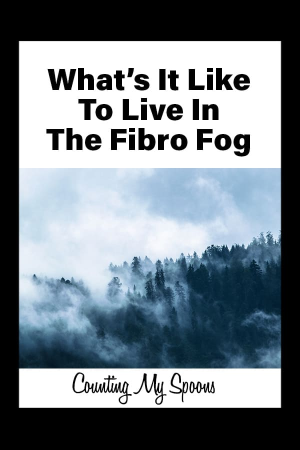 What's it like living in the Fibro Fog