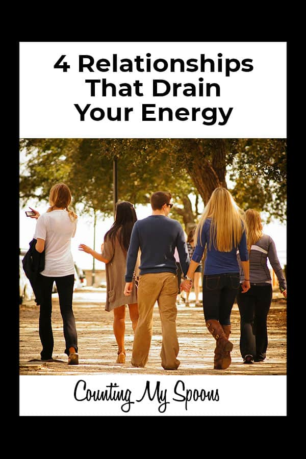The four relationships that drain your energy
