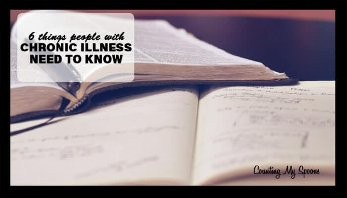 6 things people with chronic illness need to know