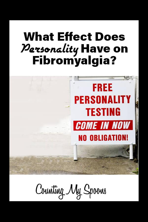 Is there a connection between personality and fibromyalgia?