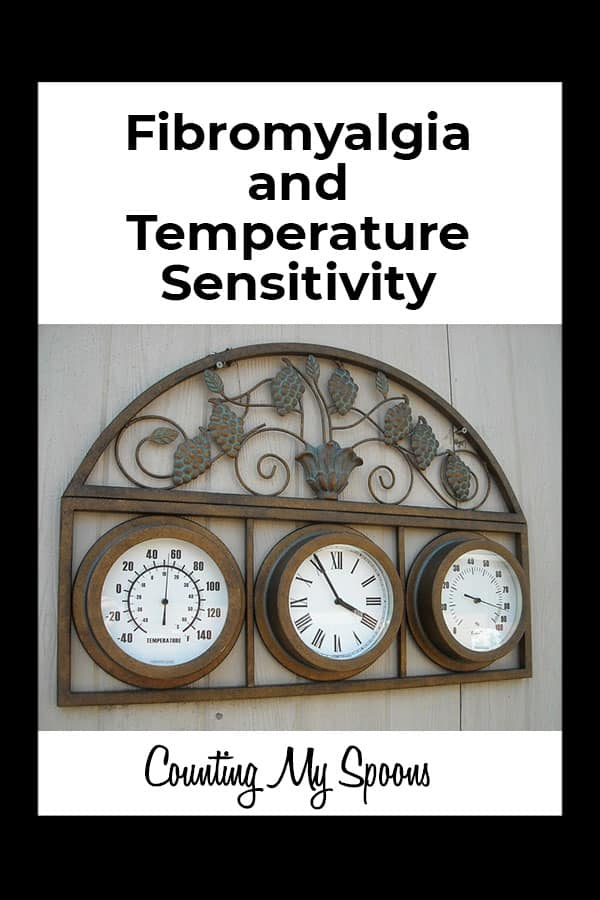 Temperature sensitivity and fibromyalgia