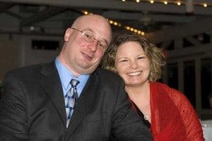Donna with Hubby pre-diagnosis