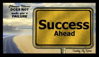 Chronic illness does not make you a failure