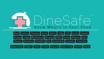 DineSafeApp makes dining out with food allergies easier