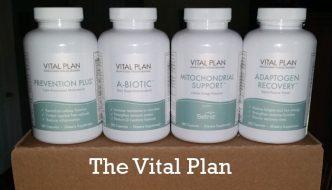 The Vital Plan restore kit for chronic illness