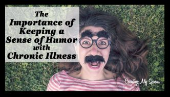 the importance of keeping a sense of humor with chronic illness