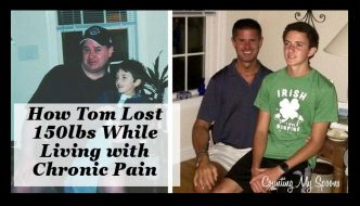 tom lost 150lbs while living with chronic pain