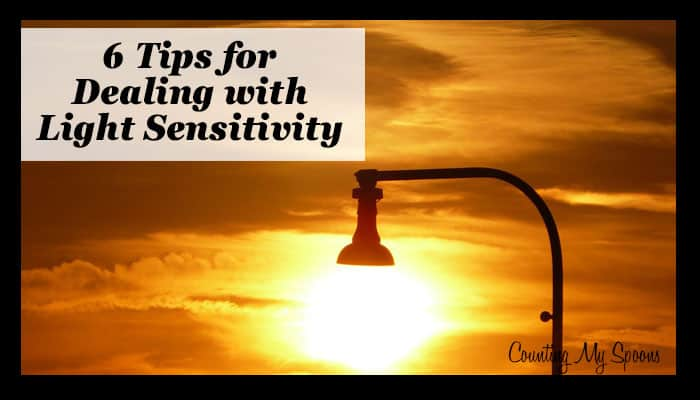 6 tips for dealing with light sensitivity