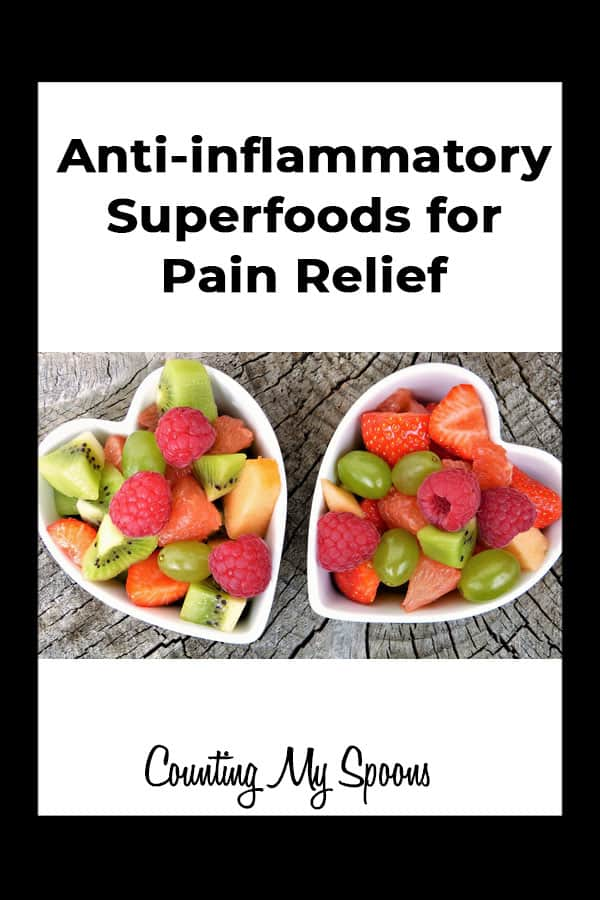 Eating anti-inflammatory superfoods for pain relief