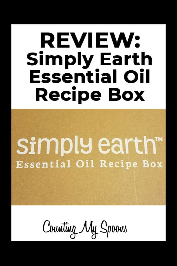 Review: Simply Earth Essential Oil subscription box