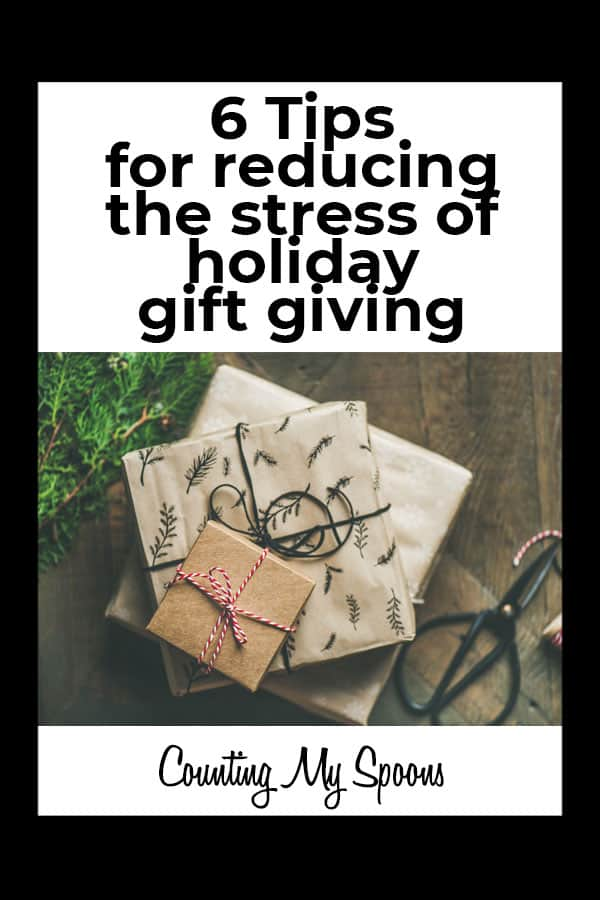 6 Tips for Reducing the Stress of Holiday Gift Giving