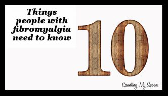 10 things people with fibromyalgia need to know