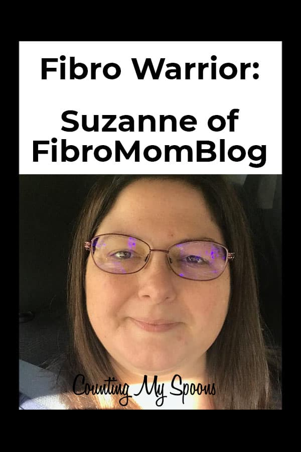 Interview with Fibro Warrior Suzanne of FibroMomBlog
