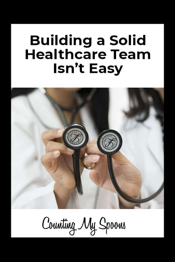 Building a solid healthcare team isn't easy