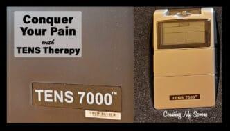TENS 7000 digital TENS unit kit - Conquer your pain