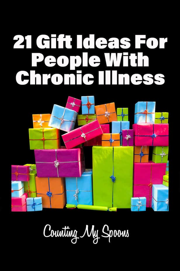 21 gift ideas for people with chronic illness
