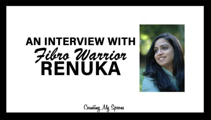 An interview with Fibro Warrior - Renuka