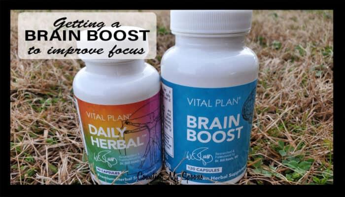Brain Boost to improve focus